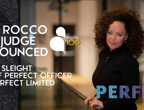 NEW ROCCO IOO JUDGE ANNOUNCED – VICKY SLEIGHT, THE PERFECT LIMITED