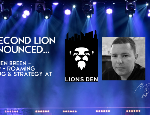 The Second Lion is Announced: Mr Stephen Breen from Verizon